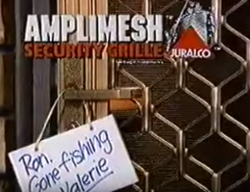 Amplimesh TV ad from 1987