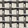Woven steel mesh